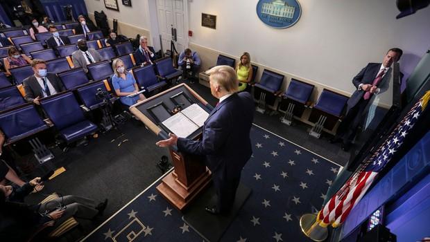 Donald Trump predlaga preložitev novembrskih predsedniških volitev (foto: profimedia)