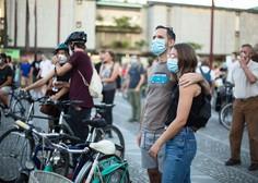Tokratni protest v Ljubljani kot ekskurzija v preteklost, ko so protestniki podprli  zdajšnjega premierja