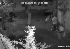Ljubljanski policisti izsledili vandale, ki so na Križevniški ulici povzročili razdejanje