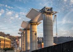 Dve leti po nesreči v Genovi odpirajo nov viadukt