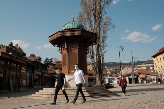 V BiH, Srbiji ter Severni Makedoniji manj primerov okužb kot dan pred tem