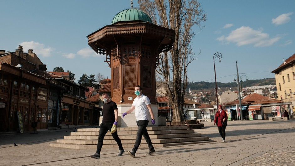 V BiH, Srbiji ter Severni Makedoniji manj primerov okužb kot dan pred tem (foto: Profimedia)