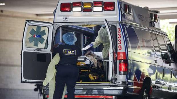 V ZDA več kot 46.000 novih okužb, 532 ljudi je umrlo (foto: Xinhua/STA)