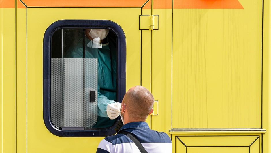 Na Balkanu znova rahlo povečanje okužb (foto: Profimedia)