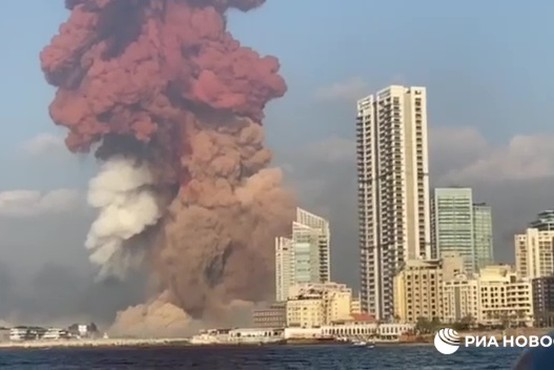 Eksplozije v Bejrutu terjale več deset življenj, okoli 2500 ranjenih