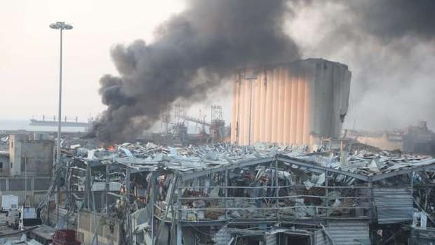 Po eksploziji v Bejrutu več kot 200.000 ljudi brez strehe nad glavo (foto: Xinhua/STA)