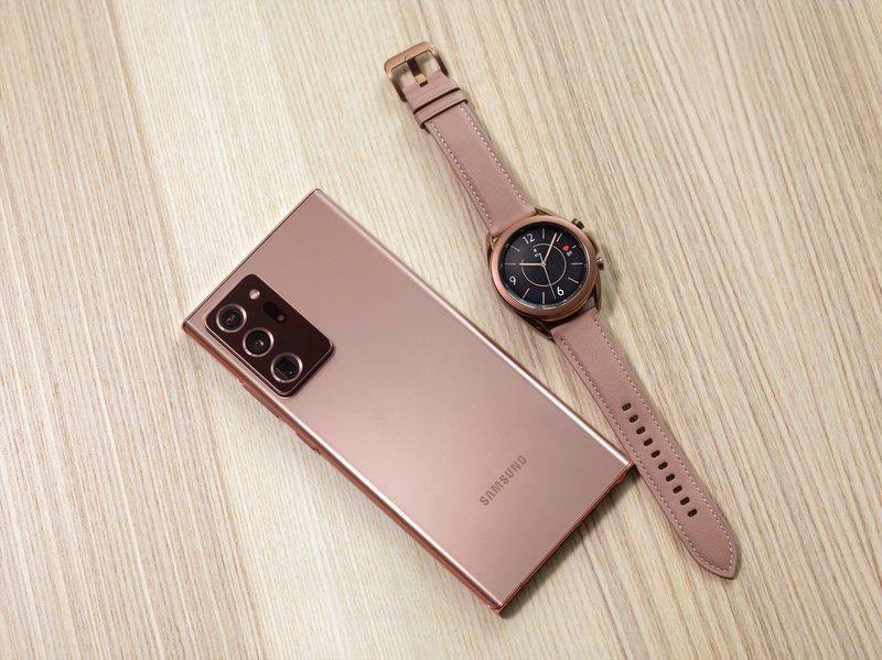 Galaxy Note20 Ultra in Watch3