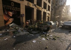 Libanon žaluje po uničujočih eksplozijah, Slovenski vojaki na varnem