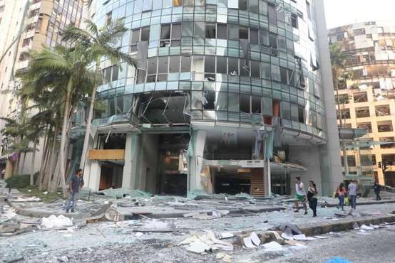 V povezavi z eksplozijami v Bejrutu pridržali 16 uslužbencev pristanišča