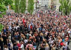 Tema protestov v Ljubljani dostojanstvo za starostnike, v Izoli proti korupciji