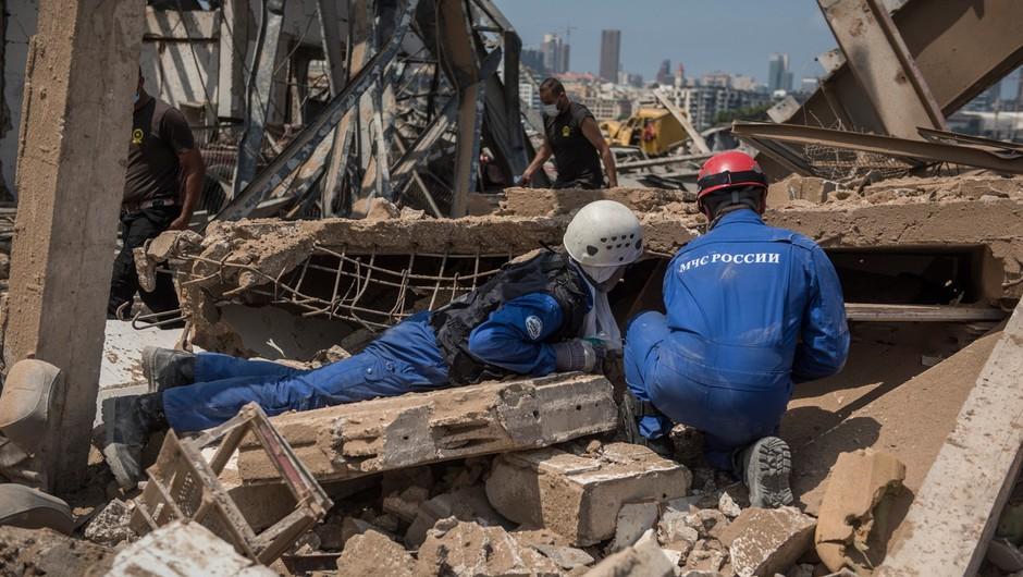 V Združenih narodih si prizadevajo, da bi pomagali razdejanemu Bejrutu (foto: profimedia)