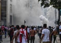 Osrednji trg v libanonski prestolnici napolnilo na tisoče protestnikov