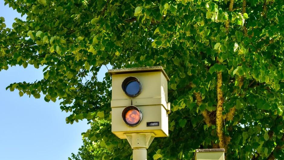 Začetek preventivne akcije, ki naj bi z umirjanjem prometa zagotovila večjo varnost (foto: profimedia)
