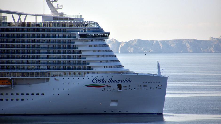 Francoski potniki vložili skupinsko tožbo proti družbi Costa Cruises (foto: Profimedia)