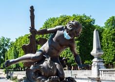 V Parizu začela veljati obveznost nošenja zaščitnih mask tudi na prostem