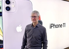 Prvi mož ameriškega tehnološkega podjetja Apple Tim Cook se je pridružil klubu milijarderjev