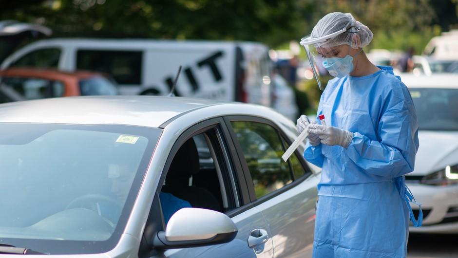 V ponedeljek potrjenih 17 okužb, na Hrvaškem 91 (foto: Profimedia)