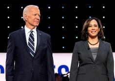Biden za svojo podpredsedniško kandidatko izbral temnopolto Kamale Harris