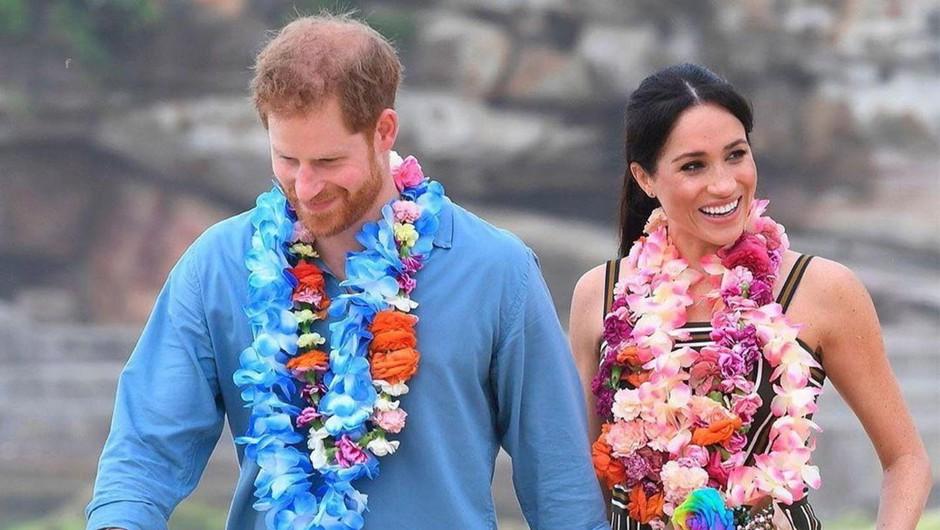 Princ Harry se je s soprogo Meghan julija letos preselil v Santa Barbaro (foto: Profimedia)