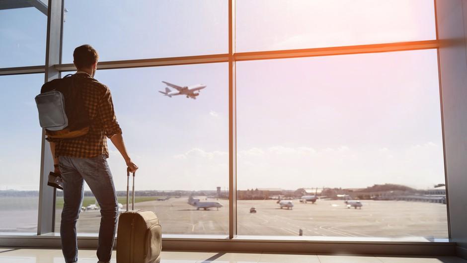 Število letalskih potnikov v EU bo letos upadlo za 60 odstotkov (foto: Shutterstock)