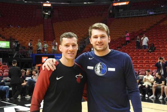 Danes začetek končnice NBA, v kateri bodo sodelovali tudi trije Slovenci