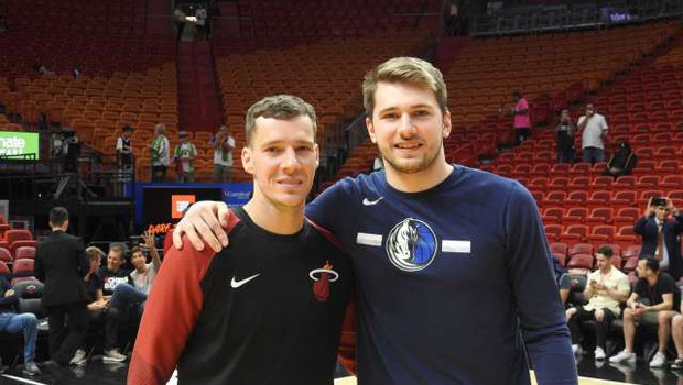 Danes začetek končnice NBA, v kateri bodo sodelovali tudi trije Slovenci (foto: Slavko Baranja/STA)