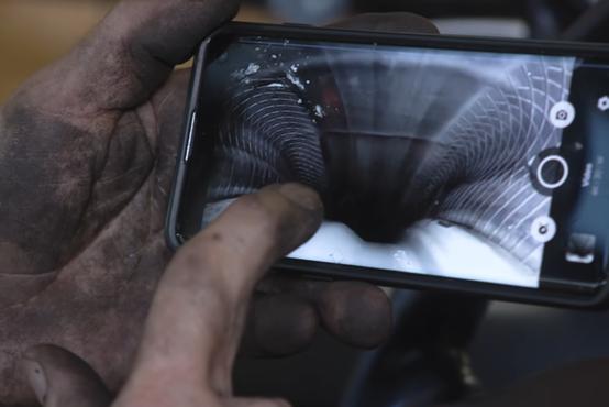 Kaj se dogaja znotraj pnevmatike med vožnjo (video)