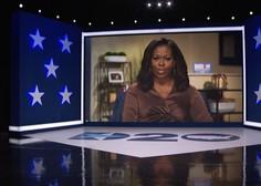 Michelle Obama s čustvenim pozivom Američanom sklenila prvi dan demokratske konvencije