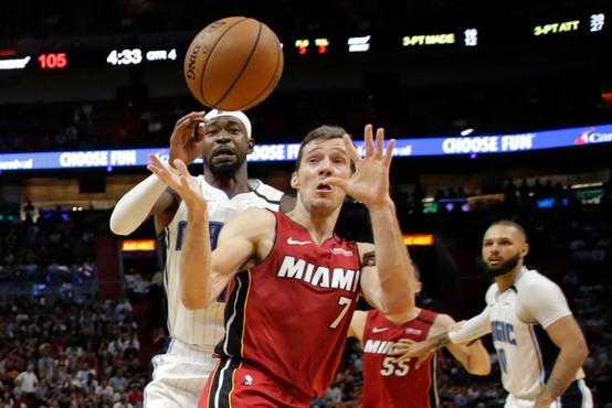 V ligi NBA večer presenečenj. Miami zmagal na krilih Dragića!