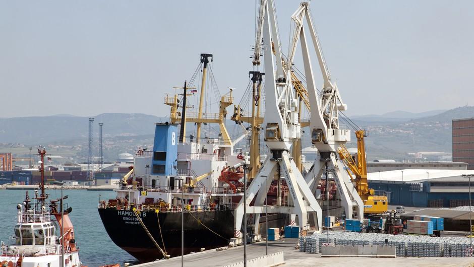 Vsem članom posadke so že odvzeli brise, odločitev o vplutju v Luko Koper po rezultatih (foto: Profimedia)