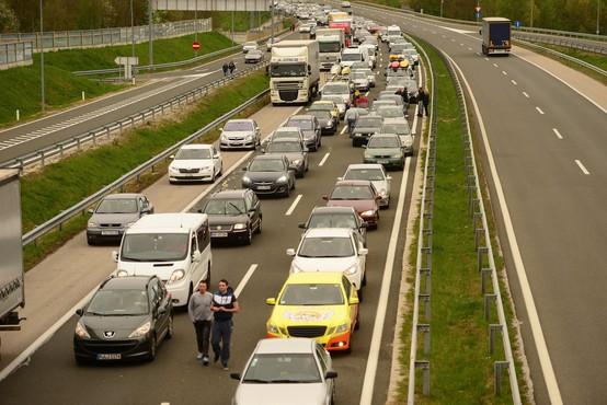 Pričakovane gneče na hrvaško-slovenski meji konec tedna ni bilo