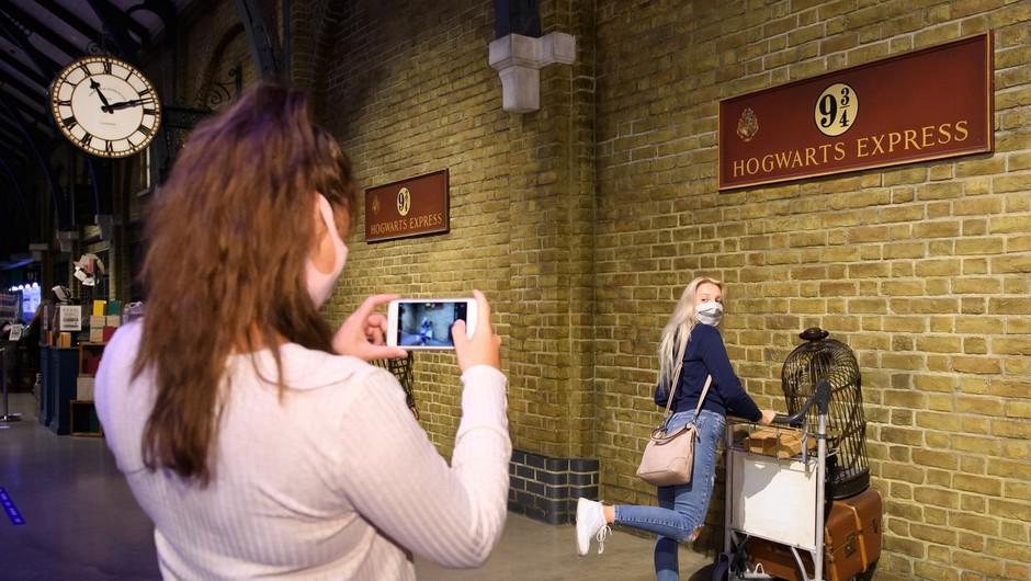Po Osaki bo tematski park Harryja Potterja dobil še Tokio (foto: profimedia)
