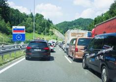 Zaradi odhoda turistov s Hrvaške na mejah že daljše čakalne dobe