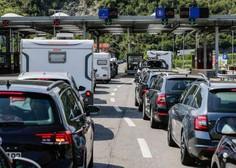 Na mejnih prehodih s Hrvaško zaenkrat ni večje gneče