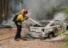 Kaliforniji zaradi požarov priskočila na pomoč vojska