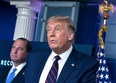 Republikanci na začetku konvencije ponovno nominirali Donalda Trumpa za predsednika ZDA