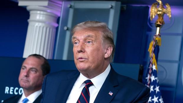 Republikanci na začetku konvencije ponovno nominirali Donalda Trumpa za predsednika ZDA (foto: Profimedia)