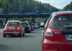 Slovenci ob vstopu s Hrvaške od danes v 14-dnevno karanteno
