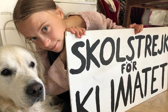 Greta Thunberg se po letu premora vrača v šolo