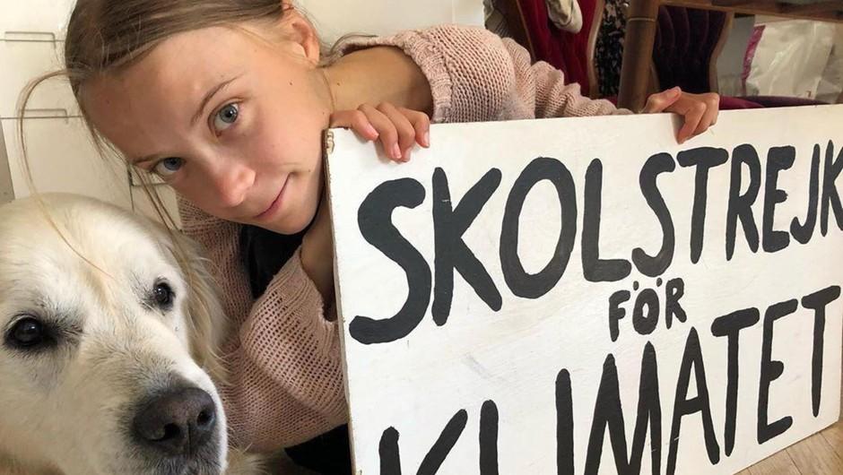 Greta Thunberg se po letu premora vrača v šolo (foto: Profimedia)