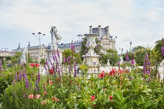 Modna znamka Kenzo Parfums in muzej Louvre združila moči za impresiven cvetlični vrt