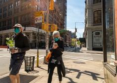 Število novih okužb v ZDA upada. Posledica nošenja mask ali manjšega števila testov?