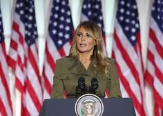 Melania Trump: Imate predsednika, ki se ne bo nikoli nehal boriti za vas in vaše družine