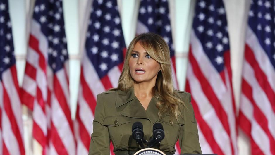 Melania Trump: Imate predsednika, ki se ne bo nikoli nehal boriti za vas in vaše družine (foto: Profimedia)