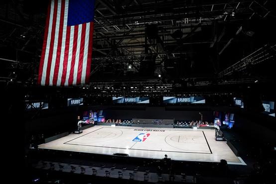Igrišča v končnici NBA ostala prazna, bojkot športnikov zaradi policijskega nasilja v ZDA
