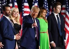 Trump z govorom pred Belo hišo sprejel predsedniško nominacijo republikanske stranke