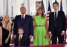 Ljudje se ne morejo načuditi, kako velik je Barron Trump