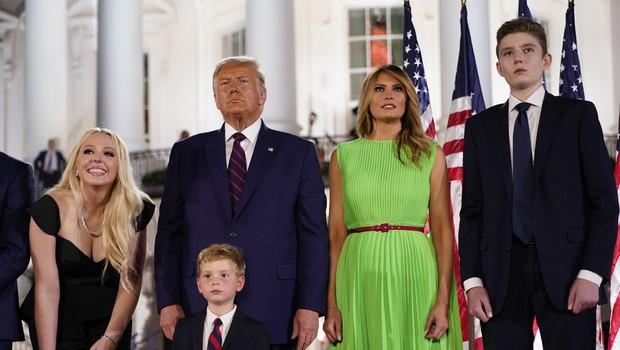 Ljudje se ne morejo načuditi, kako velik je Barron Trump (foto: profimedia)