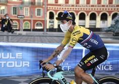 V senci pandemije kolesarji v Nici že pripravljeni na 107. dirko po Franciji