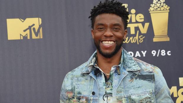 "Poslovil se je ""črni panter"" Chadwick Boseman (foto: profimedia)"